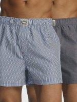Levi's® Boxer Short 300LS Striped Chambray blue