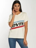 Levi's® Camiseta Graphic Boyfriend New Logo blanco