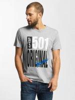 Levi's® t-shirt 501® Graphic grijs