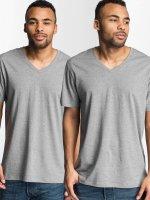 Levi's® t-shirt V-Neck grijs