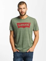Levi's® t-shirt Housemark Graphic olijfgroen