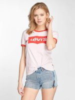 Levi's® T-Shirt Perfect Ringer rosa