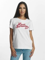 Levi's® T-shirt Perfect Graphic Levi Strauss vit