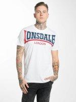 Lonsdale London T-Shirt Creaton blanc
