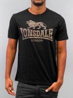 Lonsdale London t-shirt Newhaven zwart