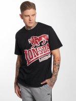 Lonsdale London t-shirt Plush zwart