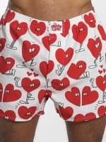 Lousy Livin Boxer Valentines blanc