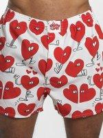 Lousy Livin Boxershorts Valentines weiß