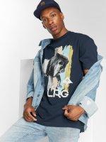 LRG T-Shirt Brushed Lion bleu