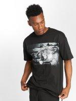 LRG t-shirt Night Watch zwart