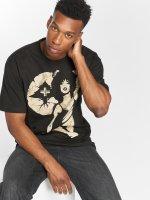 LRG T-Shirty Batik Pin Up czarny