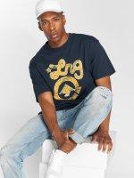 LRG T-Shirty Batik Western Icon niebieski