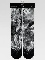 LUF SOX Skarpetki Classics Black Dust czarny
