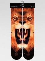LUF SOX Socken Classics Lion braun