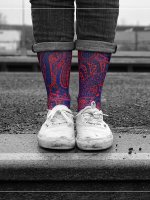LUF SOX Socken Persia Mason bunt