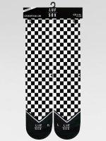 LUF SOX Socken Classics Chessboard schwarz