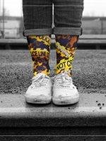 LUF SOX Socks Police Line colored