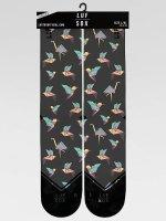 LUF SOX Socks Classics Origami gray