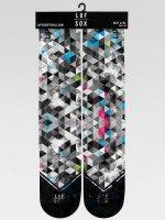 LUF SOX Socks Classics Geogram grey