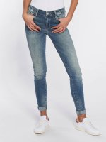 Mavi Jeans Skinny Jeans Adriana Mid Rise blau