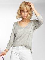 Mavi Jeans T-Shirt manches longues Basic Zip gris