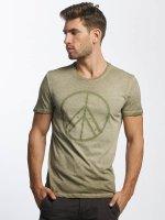 Mavi Jeans T-skjorter Peace oliven