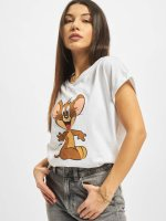 Merchcode T-Shirt Tom & Jerry Mouse blanc