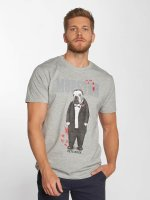 Merchcode t-shirt Petsrock Dogfather grijs