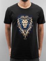 Merchcode T-Shirt Warcfraft Alliance schwarz