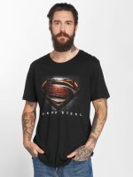 Merchcode T-Shirt MOS Superman schwarz