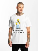 Merchcode T-Shirt Simpsons Moes weiß