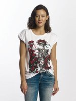 Merchcode T-Shirt Grateful Dead Rose white