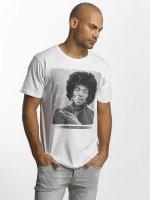 Merchcode t-shirt Jimi Hendrix Purple Haze wit