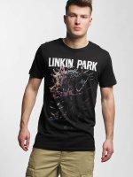 Merchcode t-shirt Linkin Park Heart zwart