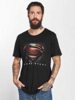 Merchcode t-shirt MOS Superman zwart