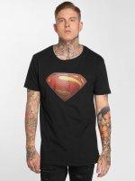 Merchcode t-shirt JL Superman zwart