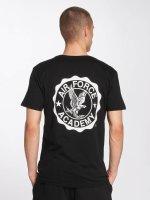 Merchcode t-shirt Air Force Academy Logo zwart