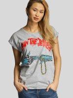 Merchcode T-shirts Run The Jewels Goldchain grå