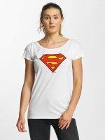 Merchcode T-shirts Superman Logo hvid
