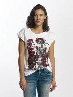 Merchcode T-shirts Grateful Dead Rose hvid