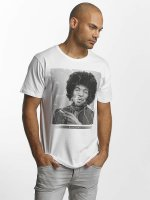 Merchcode T-shirts Jimi Hendrix Purple Haze hvid