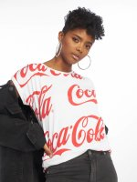 Merchcode T-shirts Coca Cola hvid