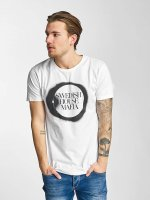 Merchcode T-Shirty Swedish House Mafia Logo bialy