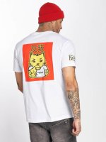 Merchcode T-Shirty Asia Cat bialy