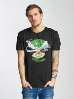 Merchcode T-Shirty Green Day Paradise czarny