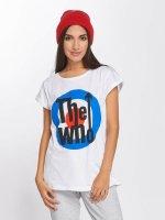 Merchcode T-skjorter The Who Classic Target hvit