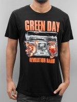 Merchcode T-skjorter Green Day Radio svart