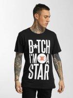 Merchcode T-skjorter Jason Derulo B*tch I'm A Star svart