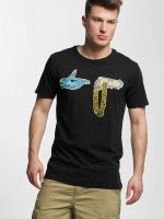 Merchcode T-skjorter Run The Jewels Goldchain svart