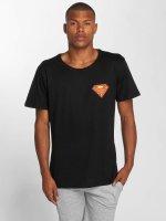 Merchcode T-skjorter Superman svart